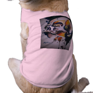 Skull Image Doggie Tank Top