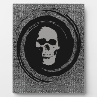 Skull in a Void Plaque