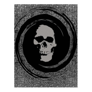 Skull in a Void Postcard