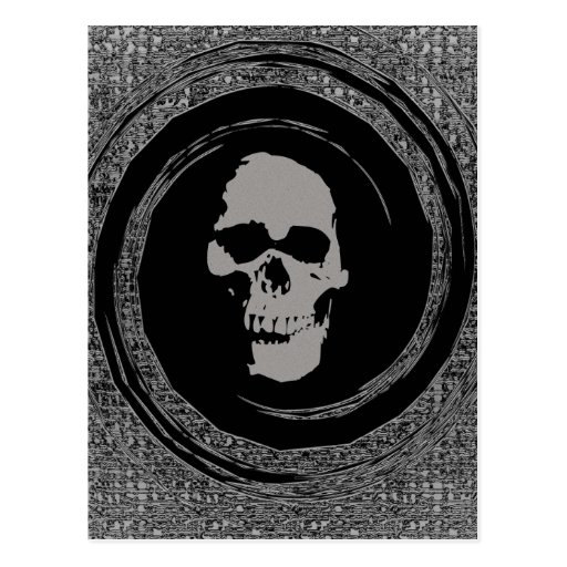Skull in a Void Post Card