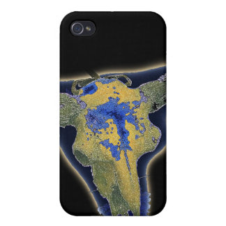 Skull in Darkness iPhone 4/4S Covers