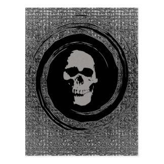 Skull In Void Postcard