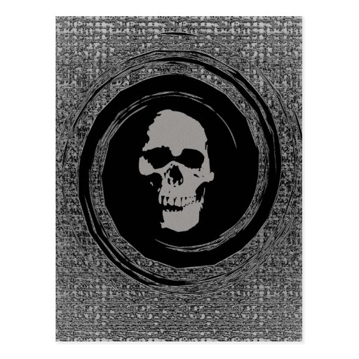 Skull In Void Post Cards