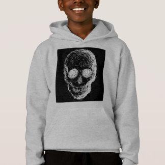 Skull, in White.