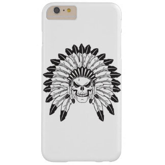 Skull Indian Chief Barely There iPhone 6 Plus Case