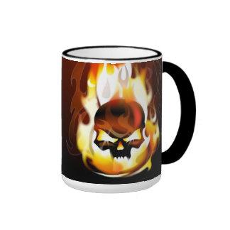 Skull Inferno Mug