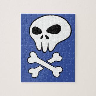 skull jigsaw puzzle