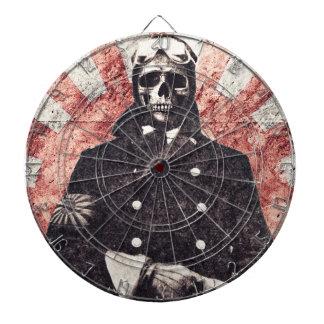 Skull kamikaze dartboard