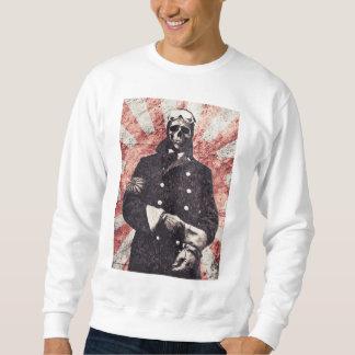 Skull kamikaze sweatshirt