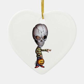 Skull Kid Christmas Ornament