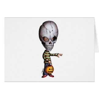 Skull Kid Greeting Card
