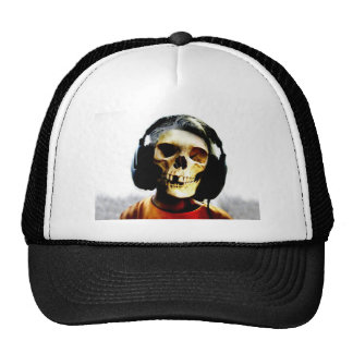 Skull Kid Headphones Design - GeekShirts Hats