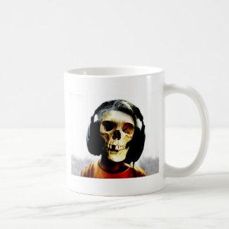 Skull Kid Headphones Design - GeekShirts Coffee Mugs