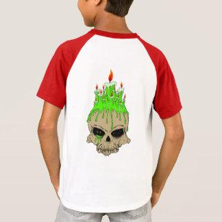 Skull Kids' Short Sleeve Raglan T-Shirt