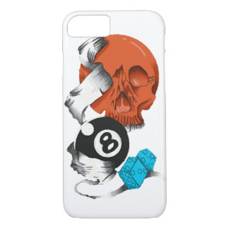 skull layer iPhone 8/7 case