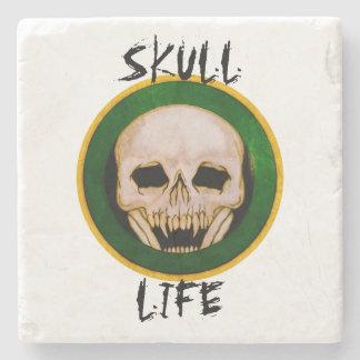 SKULL LIFE  Coaster