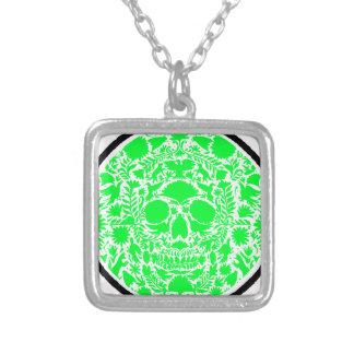 SKULL LIGHT GREEN PRODUCTS PENDANT