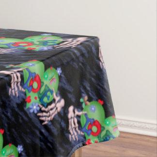 "SKULL LOVE 2 Tablecloth COLOR LIPS 60""x104"""