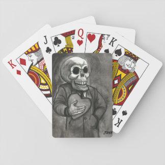 SKULL LOVE ART JACK JOYA PLAYING CARDS