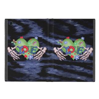 SKULL LOVE BLEU CUTE iPad Mini iPad Mini Cover