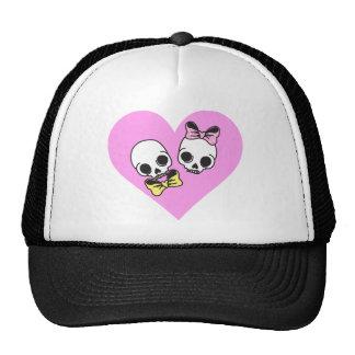 skull love cap