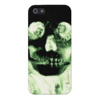 Skull Love Vintage Optical Illusion, Radioactive Case For iPhone 5/5S