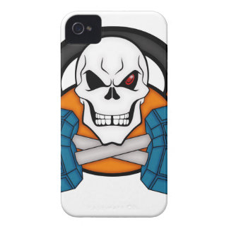 Skull love's weights iPhone 4 cover