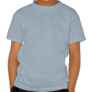 Skull - Lt. Blue Kids' Basic Hanes Tagless T-Shirt