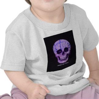 Skull make day t shirt