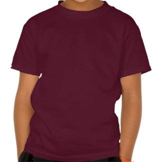 Skull - Maroon Kids' Basic Hanes Tagless T-Shirt