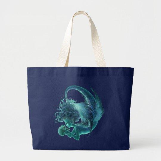 Skull Mermaid Tote - Secret Kisses