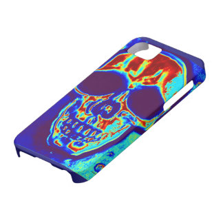 Skull molten metal goth case for the iPhone 5