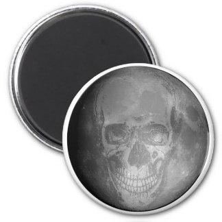 Skull Moon Magnet
