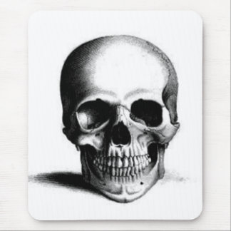 skull mouse mat mouse pad