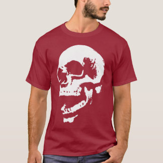 skull mouth print T-Shirt