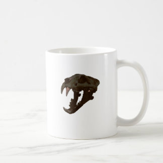 Skull Basic White Mug