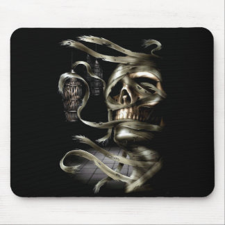 Skull Mummy Mouse Pad