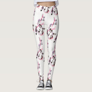 Skull Music Leggings