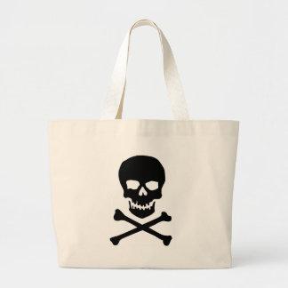 skull n bone beach bag