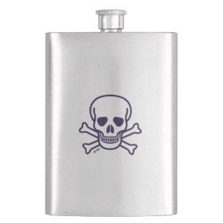 Skull n Bones classic flask