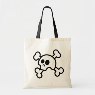 Skull 'N Bones Halloween Treat Bag