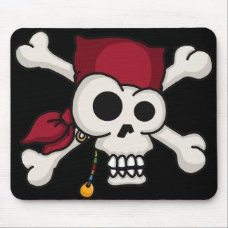 Skull N Crossbones Mouse Pad