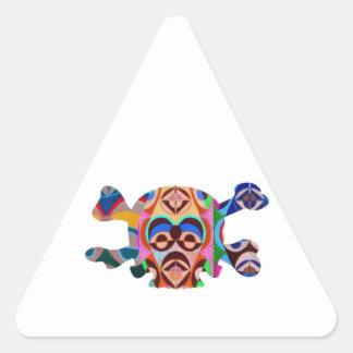 Skull n Ghost : Novino African Mascot Sticker
