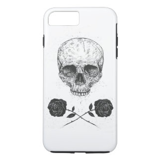 Skull N' Roses iPhone 7 Plus Case