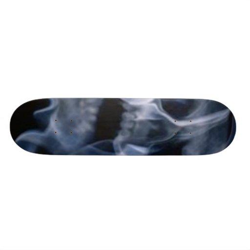 Skull 'n Smoke Skateboard Deck