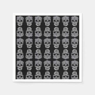 Skull napkins. disposable napkin