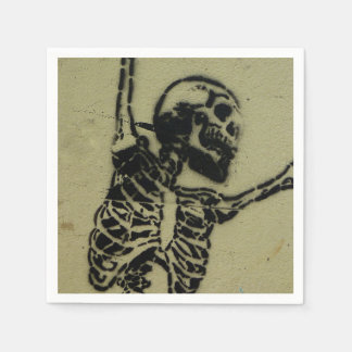 Skull napkins. paper napkin