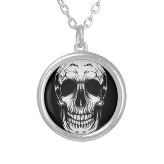 SKULL NECKLACE by THE ART DUMP