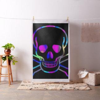 Skull,neon Fabric