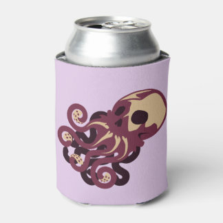 Skull Octopus Can Cooler
